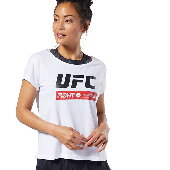 Women's UFC Fan Gear Fight Week T-Shirt - White