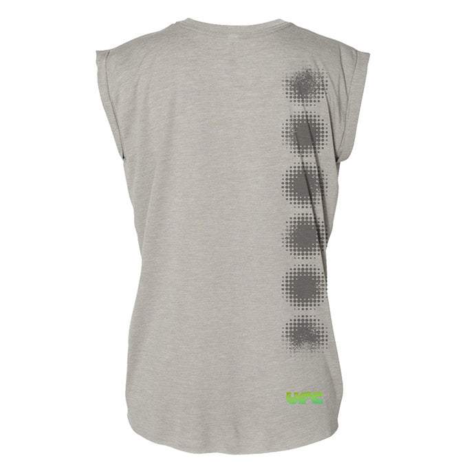 Women's UFC 360 Energy Muscle T-Shirt - Grey