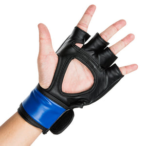 UFC 5 oz MMA Blue Gloves