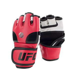 UFC Open Palm MMA Red Training Gloves