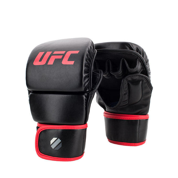 UFC 8 oz MMA Black Sparring Gloves
