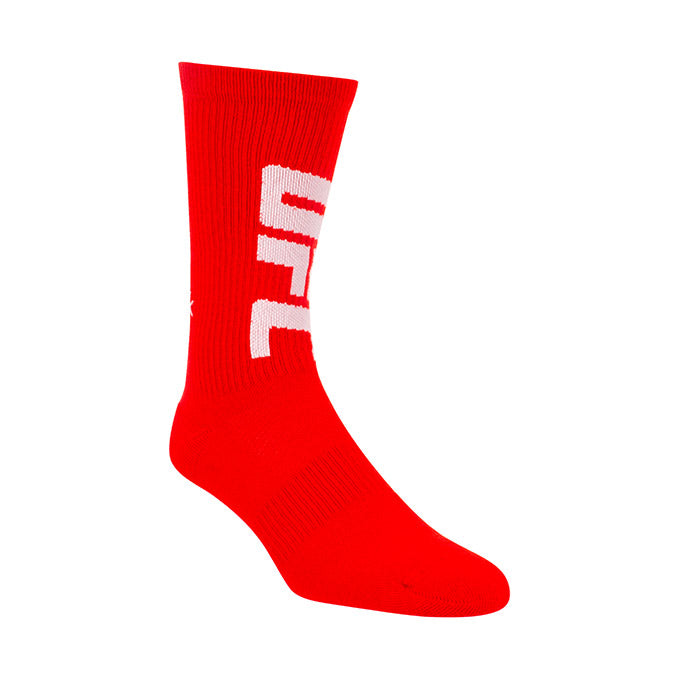 Reebok Red UFC Crew Socks