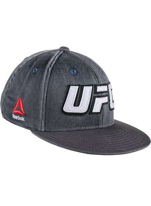 Reebok Grey UFC Applique Flexfit Cap