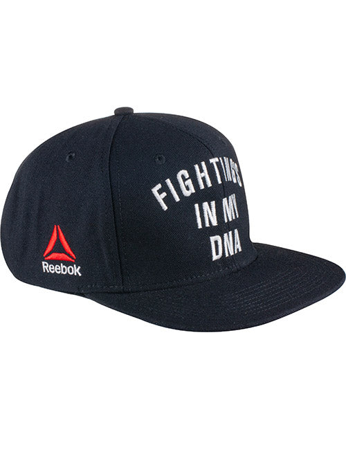 Reebok Black UFC Fighting's In My DNA Snapback Cap
