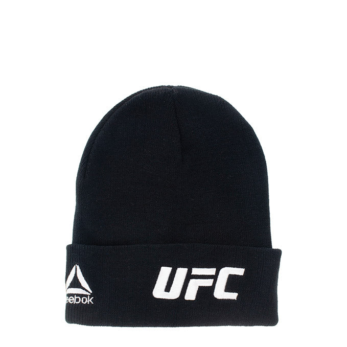 UFC Reebok Black Knit Hat