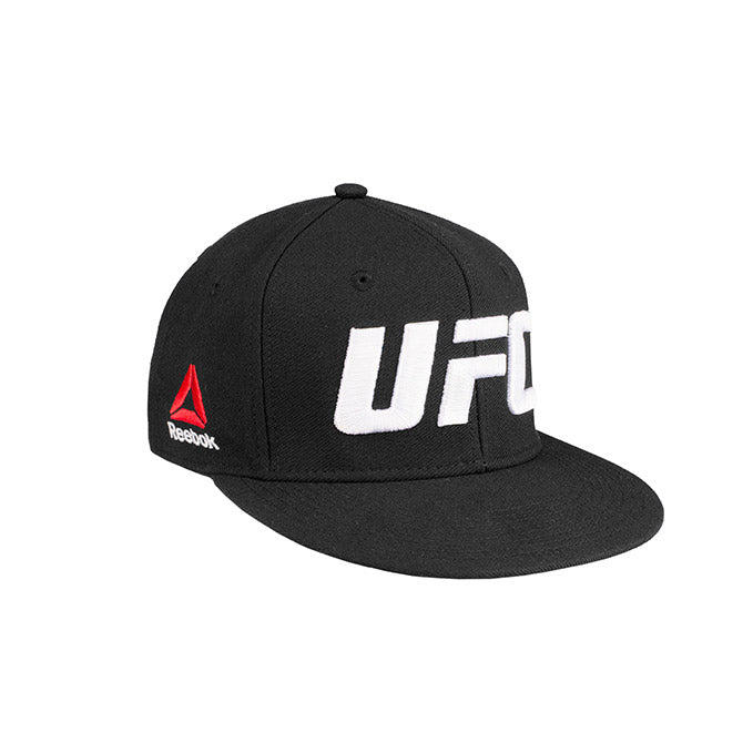 UFC Reebok Flat Core Logo Flexfit - Small/Medium