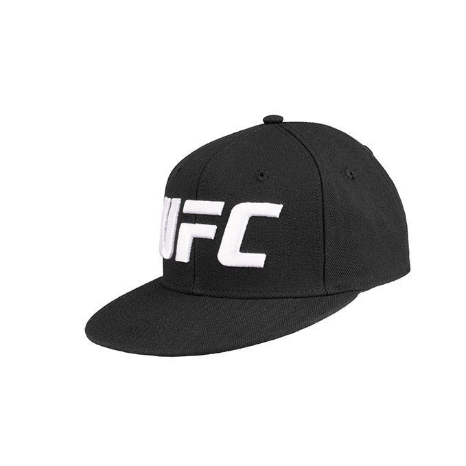 UFC Reebok Flat Core Logo Flexfit Cap - Small/Medium