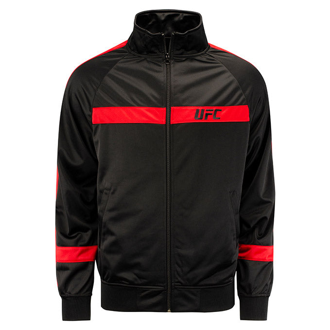 UFC Renzo Track Jacket - Black and Red