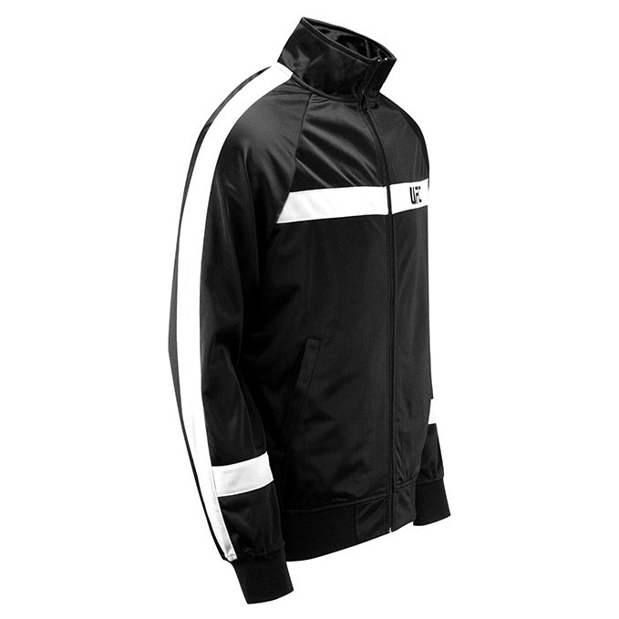 UFC Renzo Track Jacket - Black and White