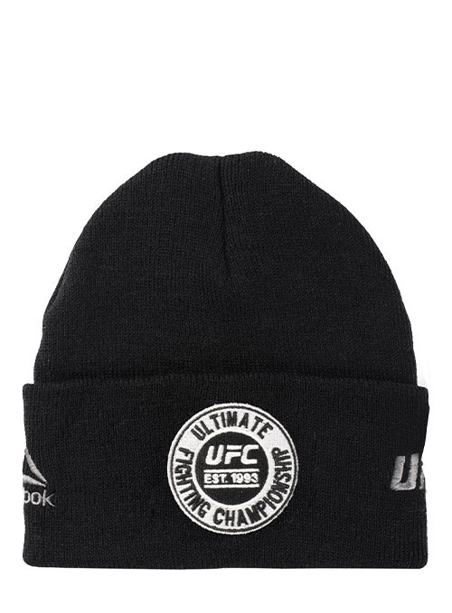 Reebok Black UFC Established 1993 Beanie