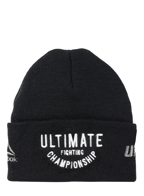 Reebok Black UFC Ultimate Fighting Beanie