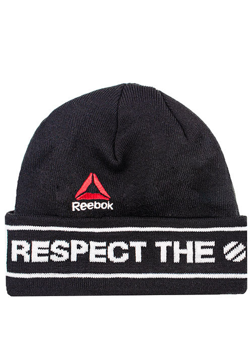 Reebok Black UFC Respect Beanie