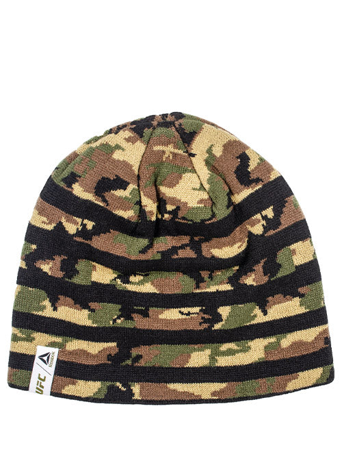 Reebok Camo UFC Striped Beanie