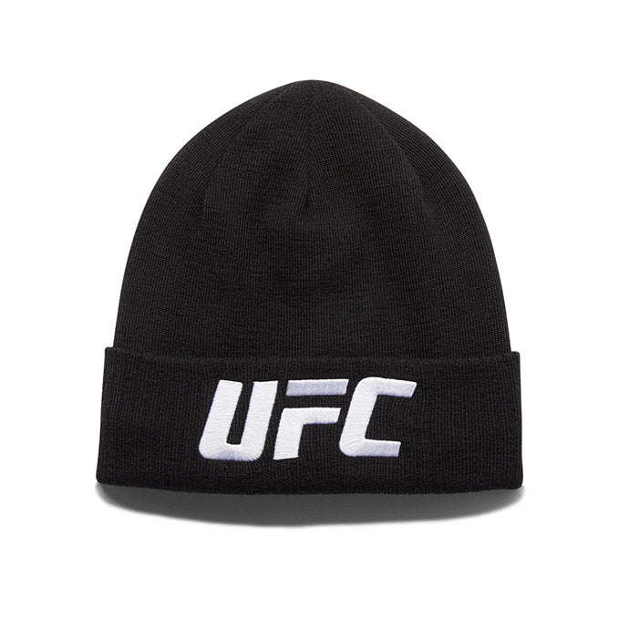 UFC Reebok Knit Hat - Black