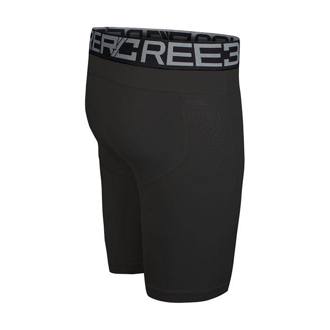 Reebok Black UFC Tudo Compression Short