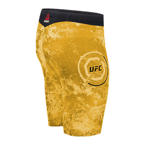 Reebok Yellow UFC Octagon Vale Tudo Short Long