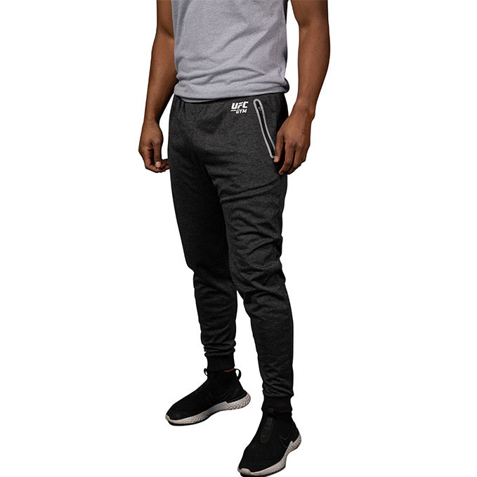 UFC Gym Men's Sleek Active Cuffed Joggers