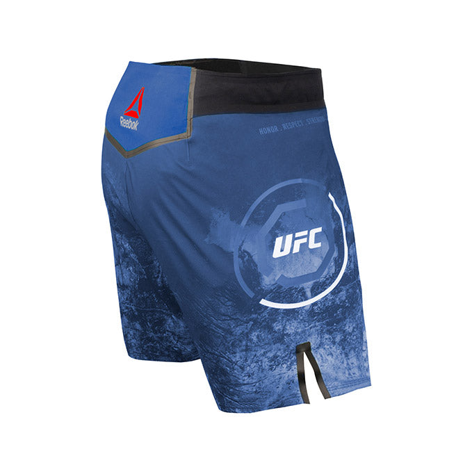 Men's Reebok Authentic UFC Fight Night Octagon Short-Blue