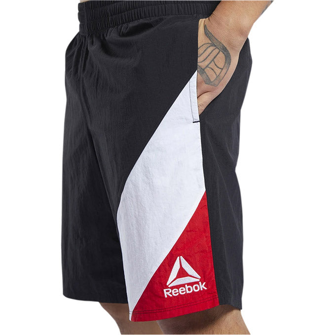 Men's UFC Reebok Fan Gear Panel Color Short -Black