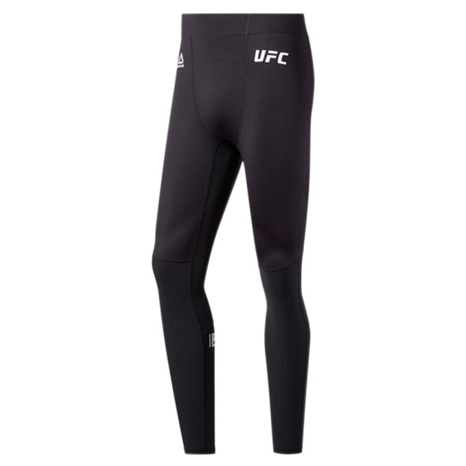 UFC Reebok Fight Week Compression Tights - Black