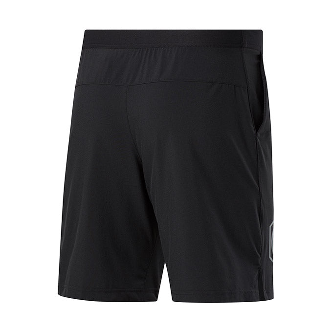 UFC Mens Reebok Knit Short-Black