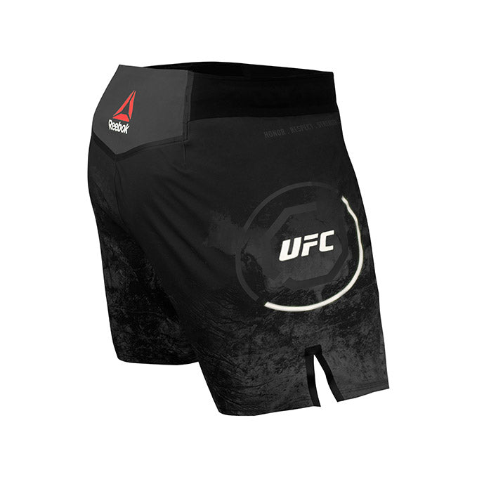 Men's Reebok Authentic UFC Fight Night Octagon Short - Black