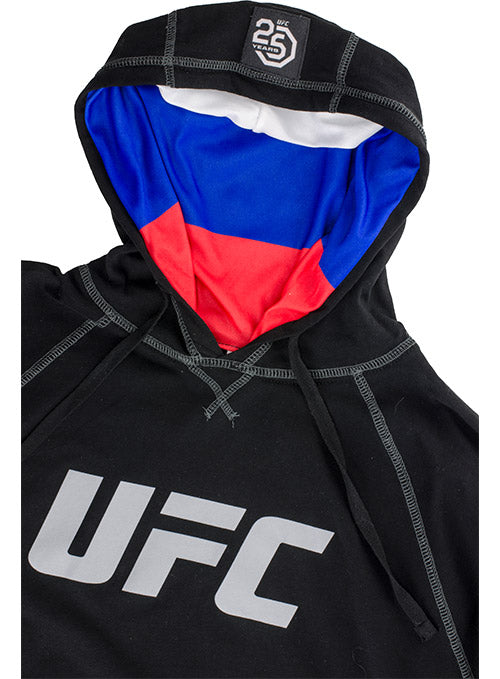 UFC Russia Flag Hoodie