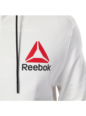 Men's Reebok Chalk UFC Fight Night Walkout Hoodie Replica