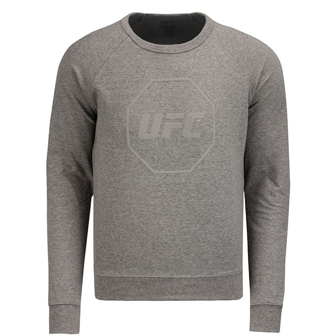 UFC Men's French Terry Crew Sweatshirt - Graphite Heather