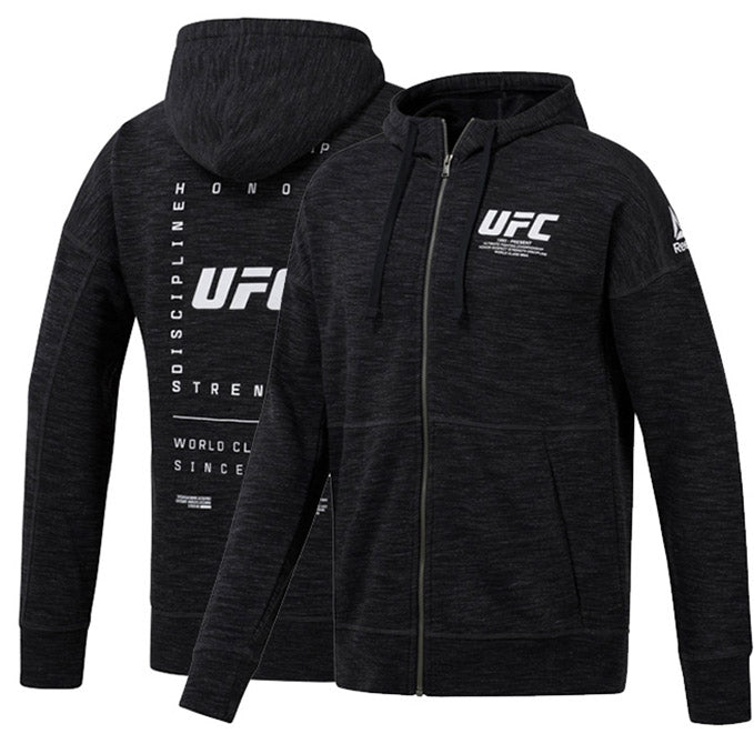 UFC Reebok Fan Gear Fight Week Hoodie - Black