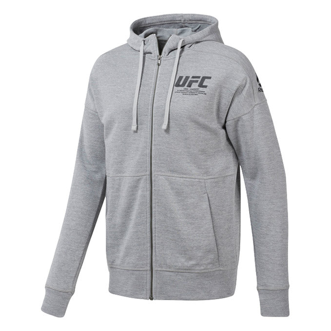 UFC Reebok Fan Gear Fight Week Hoodie - Grey