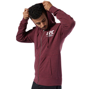 UFC Reebok Fan Gear Fight Week Hoodie - Maroon