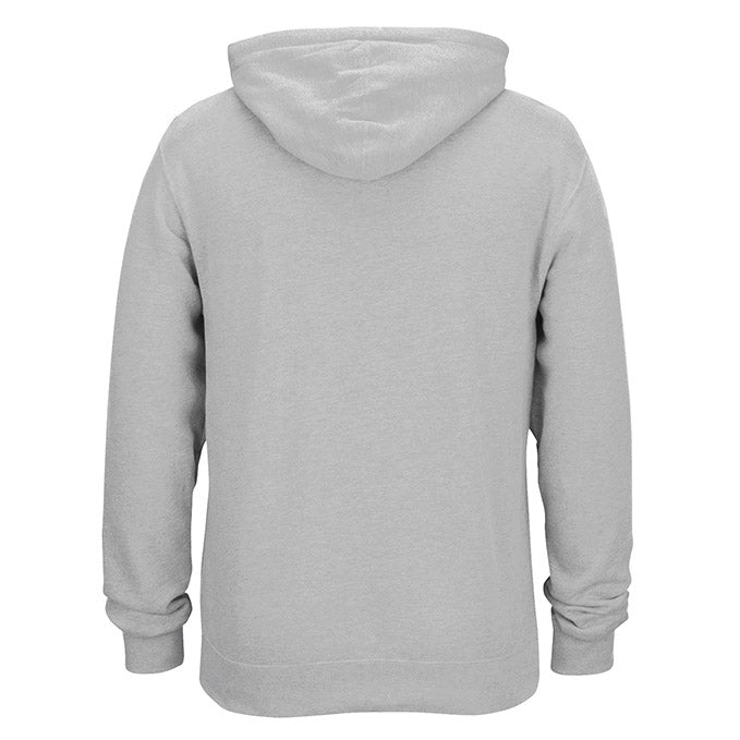Men's UFC Reebok Heather Grey Essential Pullover Fleece Hoodie