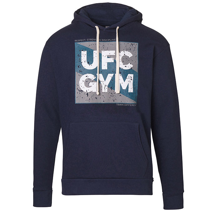 UFC Gym Men's Square Fleece Pullover Hoodie