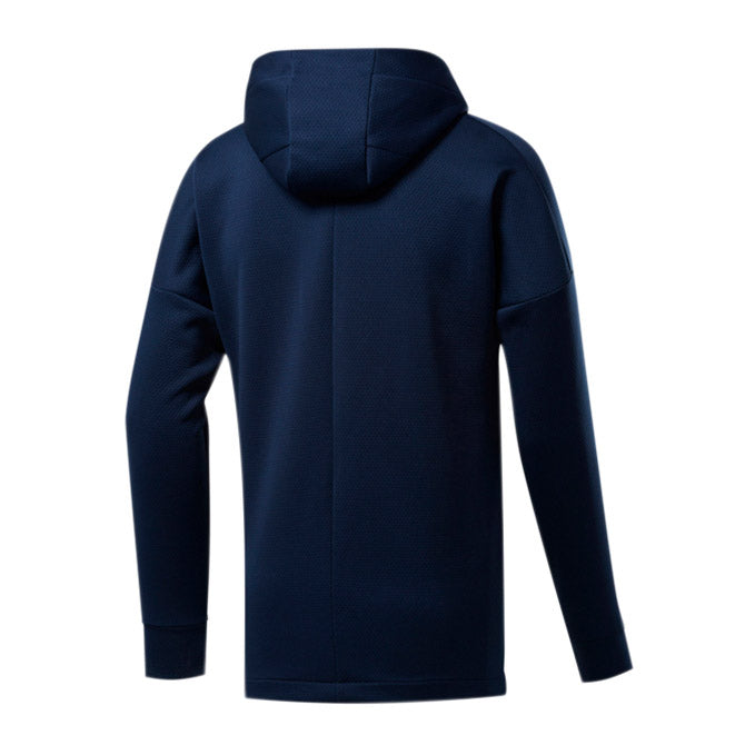 Men's UFC Reebok UBF Full Zip Hoodie - Navy
