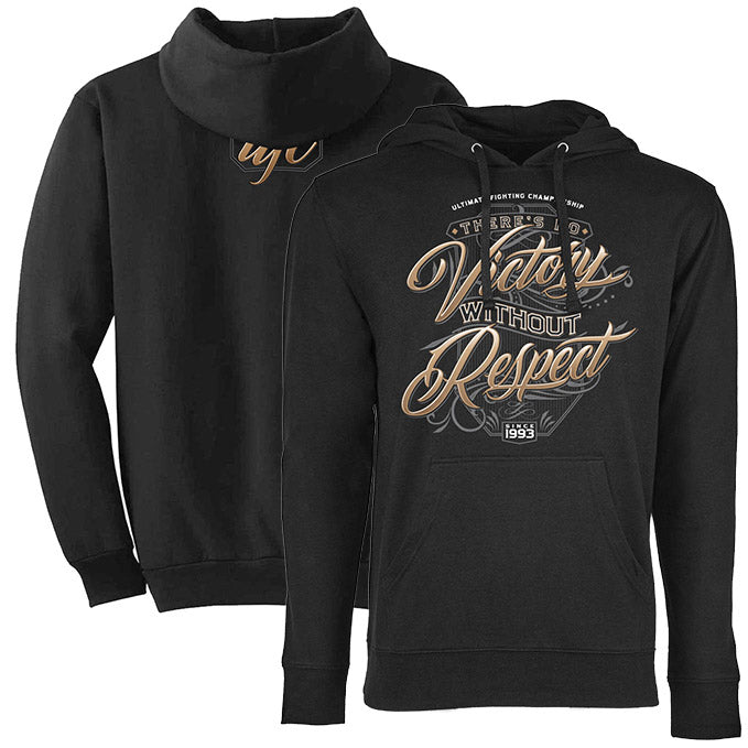 Men's UFC Victory Scroll Hoodie - Black