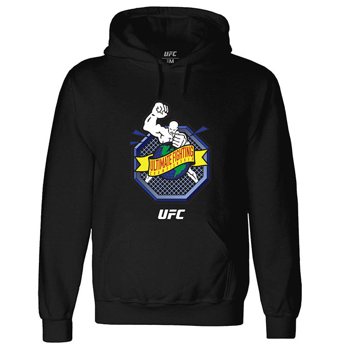 "UFC ""Ulti-Man"" Octagon Ultimate Fighting Championship Black Hoodie"