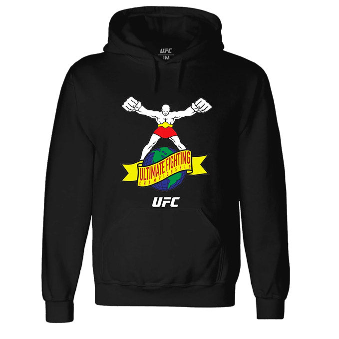 "UFC ""Ulti-Man"" Ultimate Fighting Championship Black Hoodie"