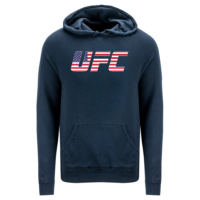 UFC USA Country Logo Royal Sweatshirt
