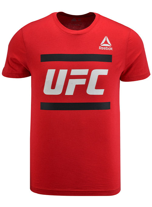 Reebok Red UFC Core Logo T-Shirt