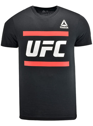 Reebok Black UFC Core Logo T-Shirt