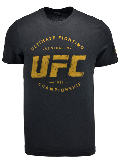 Reebok Black/Gold UFC Artist Series T-Shirt