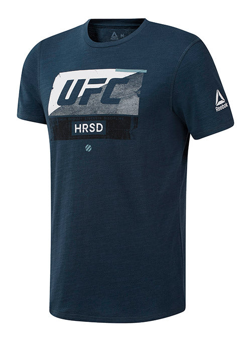 Reebok Navy UFC Fight Week T-Shirt