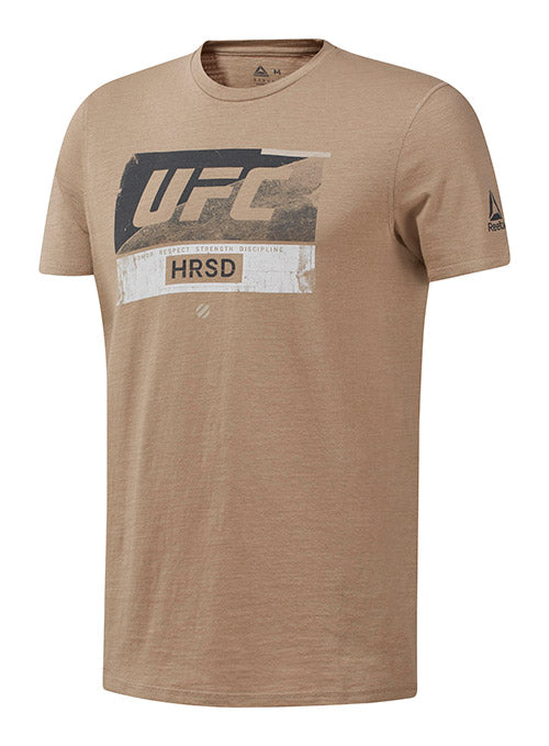 Reebok Sand UFC Fight Week T-Shirt