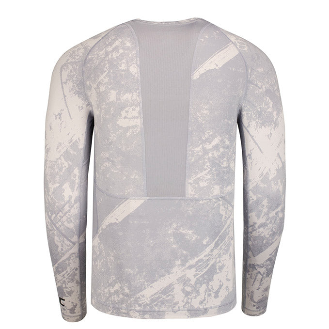 Reebok Grey UFC Long Sleeve Compression Shirt