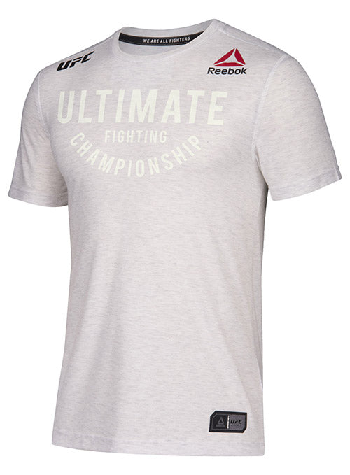 Men's Reebok Chalk Authentic UFC Fight Night Walkout Jersey