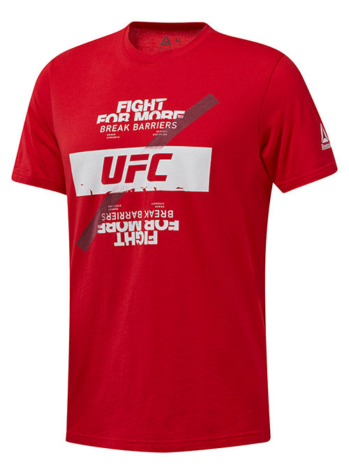 Reebok Red UFC Fan Gear Fight For Yours T-Shirt