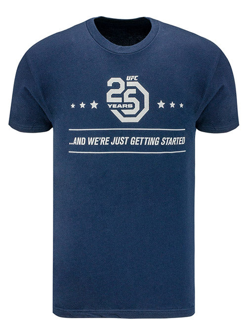 UFC 25th Anniversary Just Getting Started T-Shirt