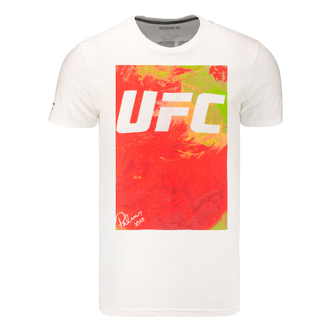 UFC Reebok Artist Series Orange Logo T-Shirt
