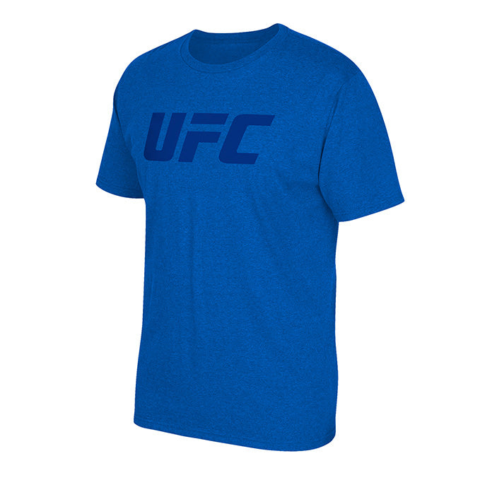 UFC Reebok Tonal Wordmark T-Shirt - Blue